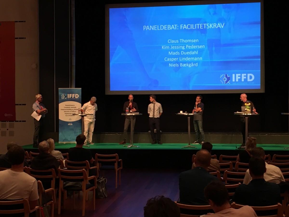 IFFD satte fokus på idræts- og fritidsfaciliteterne til Idrætsmødet